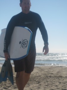 Surfing and Boogie Boarding in Southern California